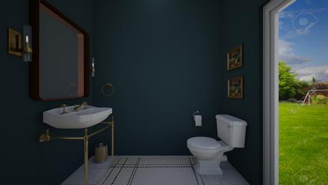 N Powder Room - Bathroom - by karinagranado