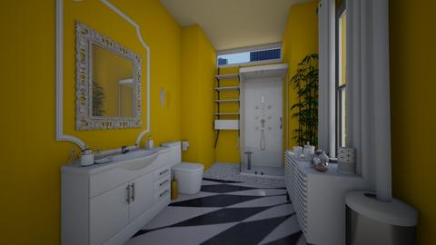 Hotel Bathroom - Modern - Bathroom  - by XelleWishes