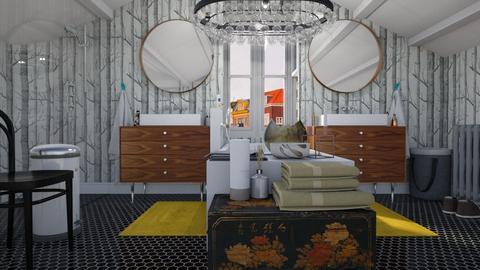 Bathroom in the attic - Modern - Bathroom  - by HenkRetro1960