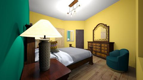 1st bedroom - Classic - Bedroom  - by Adel Mahgoub