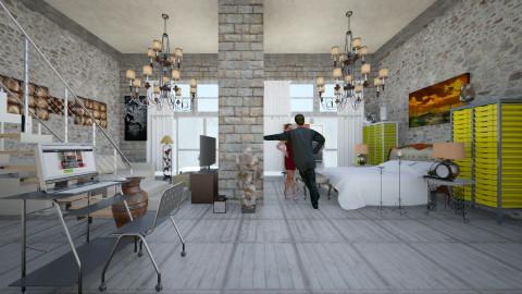 NewYork  - Eclectic - Living room  - by Ida Dzanovic