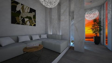 white empire room - Modern - Living room  - by vallequeen