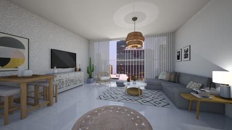 loft - Living room  - by vesperart