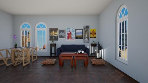 Travel Around The World - Living room  - by house17