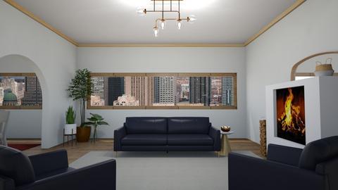 minimal - Living room  - by rosej