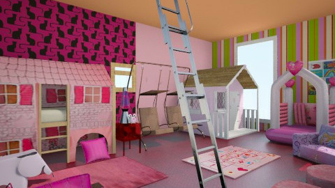 Princess Heaven - Feminine - Kids room  - by Mohammad_ Saleem