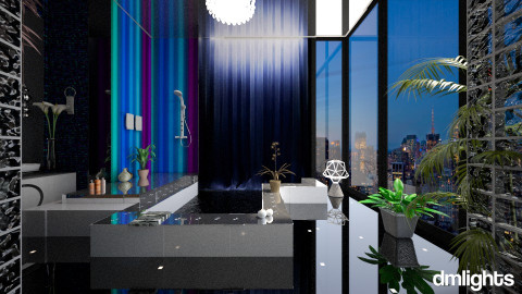 moon energy bath - Eclectic - Bathroom  - by DMLights-user-982918
