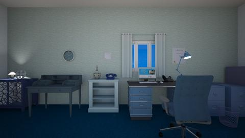 Blue Office - Office  - by mspence03
