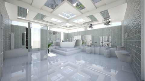clinacly - Modern - Bathroom  - by Evangeline_The_Unicorn