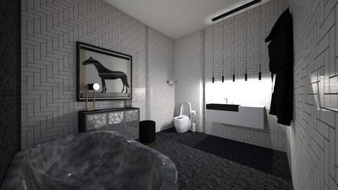 emo classy - Modern - Bathroom  - by kat587494