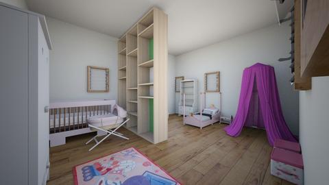 kids bedroom - Bedroom - by Kitten321