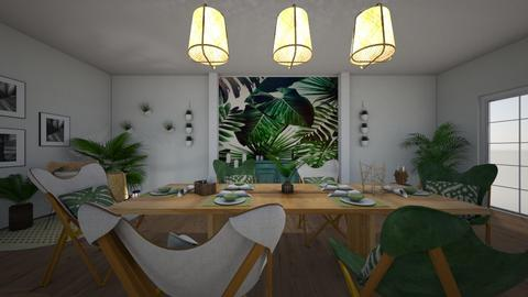 Summer Vibes - Dining room - by BFactor