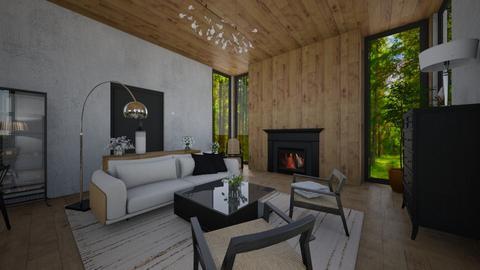 naturalism - Living room  - by klevee99