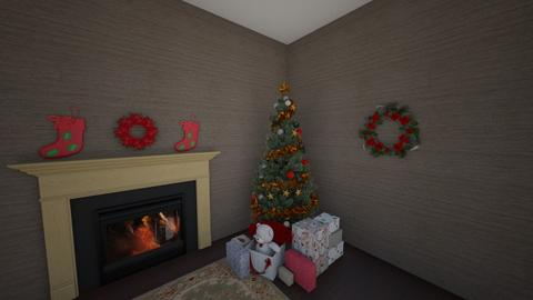 Christmas Room - by llama_555
