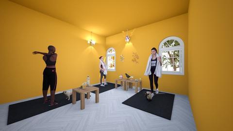 Yoga Room - by YY_330