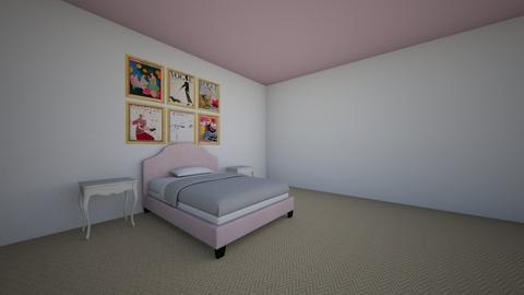 bedroom - by Alice Connor