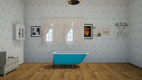 Mini Banheiro - Bathroom - by TessaSantana