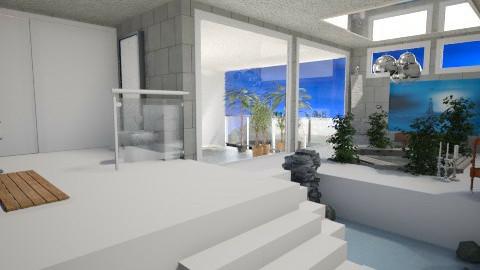 bare concret - Modern - Bathroom  - by donella