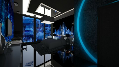uy - Modern - Bedroom  - by Evangeline_The_Unicorn