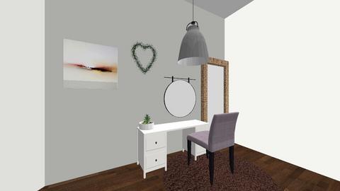 room - Minimal - Bedroom  - by ellielocke