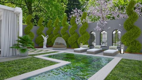 Garden Retreat 4 - Garden  - by Fofinha