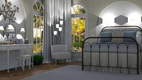 Greek Modern Bedroom - Bedroom  - by jordynclark