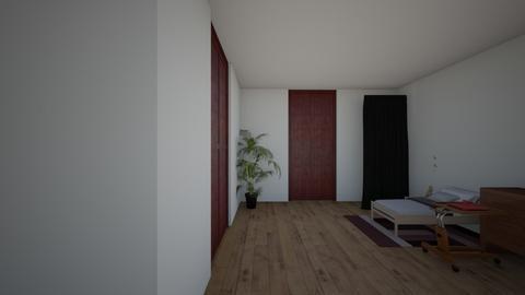 Residents room - Modern - Bedroom  - by izeller102
