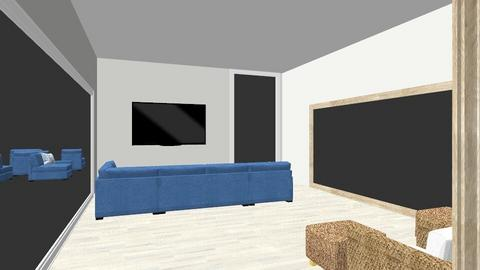 1050 Living Room_4 view - Living room  - by stephlone