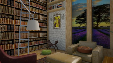 dream - Rustic - Living room  - by Sara alwhatever