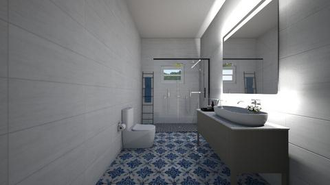 bathroom5 - Retro - Bathroom - by Lia Malhi