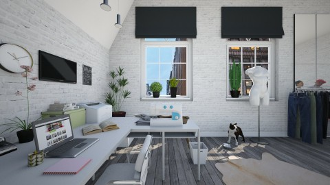 Design Studio - Office  - by hannahglass