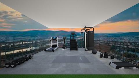 outdoor gym - Garden  - by veronika3410
