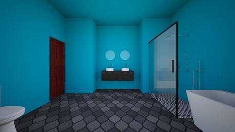 Bathroom for bathing - Bathroom  - by HufflepuffAngel