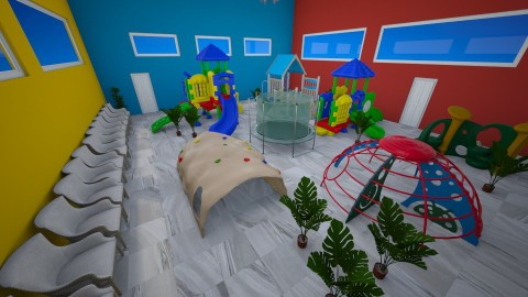 Public Kids Playroom - Classic - Kids room  - by millerfam