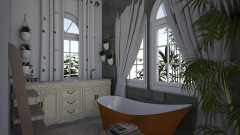 Modern Bathroom - Modern - Bathroom  - by LivStyles09