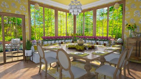 Design 510 Easter Brunch - Dining room  - by Daisy320