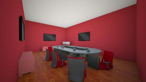 Sala de conferinte - Rustic - Office  - by Ionut Corbu