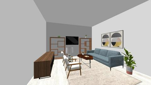 Mid Century Room_ 3 - Living room  - by sw2479
