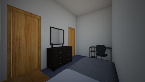 apt rm - Bedroom  - by elysedavis