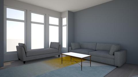 client house  - Living room  - by adeloye123