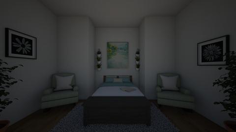Symmetrical - Bedroom  - by AaliyahAste