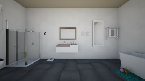 Bathroom - Minimal - Bathroom  - by Chrisalena Gkotzamani