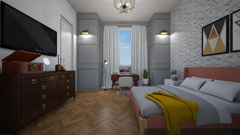 cozy bedroom - Bedroom - by binameerodal