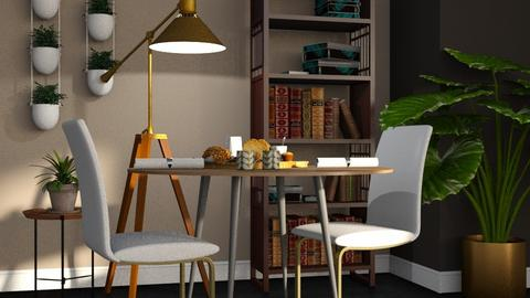 Study Nook - Modern - Dining room  - by millerfam