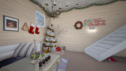 chistmas vibes - Glamour - Living room  - by AmySargeant2402