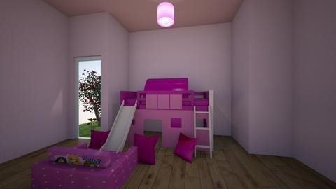 CHATERINE E ISABEL - Kids room  - by Juliette J
