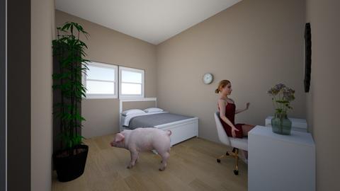 kamar teteh - Bedroom  - by dimas nawawi