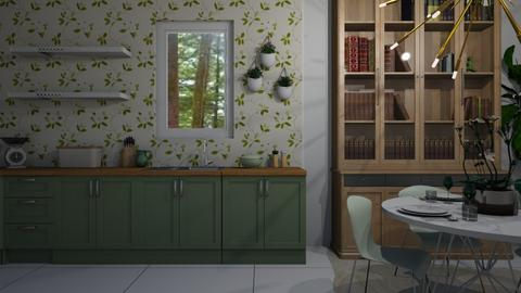 Green Dining - Dining room - by aq123
