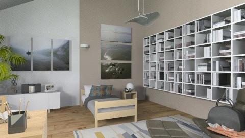 Camera Singola attico12 - Eclectic - Kids room  - by urbanplanner