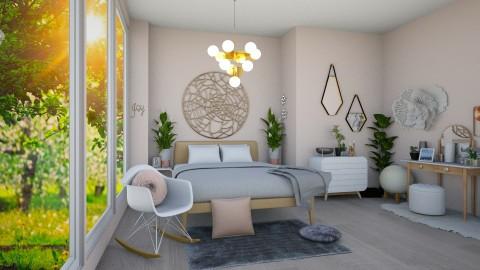 Pink Bedroom - by gtenenbaum